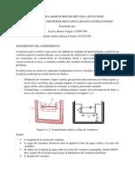 Informe de Laboratorio de Mecanica de Fluidos