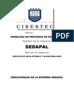 modelado de datos SEDAPAL