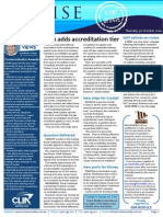 Cruise Weekly for Thu 30 Oct 2014 - New CLIA accreditation tier, Quantum delivered, DOT, CruiseManagers and much more