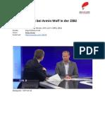 Transkript Matthias Strolz bei Armin Wolf in der #ZIB2