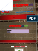 Departamentos Del Peru
