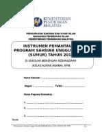 Contoh Instrumen Pemantauan SUMUR SMK KAA 2015