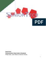 seniortech style guide
