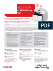 Canon ImageCLASS MF8580Cdw Specifications Brochure AU