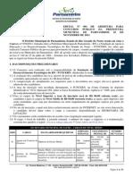 Edital Nº 001 de Abertura Retif 1,2,3,4,5 t Aditivo