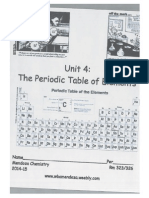 unit 4-periodic table packet part1