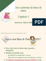 Capitulo1 Bases de Datos