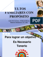 Cultos Familiares Con Proposito