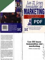 Las 22 Leyes Inmutables Del Marketing - Al Ries y Jack Trout