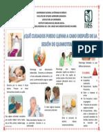 Cartel Quimioterapia!!