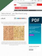 """Adria Aérea"", Por Bernhard Lang - Cultura Colectiva - Cultura Colectiva"