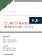 lesson 3 - double displacement reactions