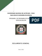 Reglamento 2da -Fie