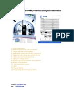 BFDX BF-P118 DPMR Professional Digital Walkie Talkie
