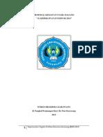 Proposal Kegiatan Usaha Dagang s1 Keperawatan Tingkat III