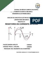ANÁLISIS DE CIRCUITOS ELÉCTRICOS DE C.A.