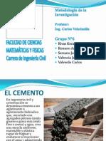 Quimica - El Cemento