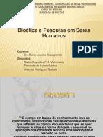 Bioetica e Pesquisa