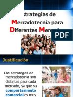 Mercadotecnia Para Diferentes Mercados 2011