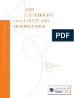Wind and Solar Electricity - Challenges and Opportunities by Paul Komor for PEW Centre