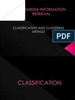 CLASSIFICATION AND CLUSTERING METHOD