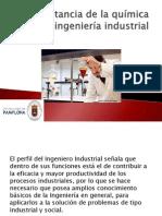 quimica en la ingenieria industrial