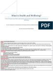 what is health and wellbeing
