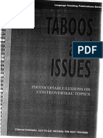 Taboos & Issues