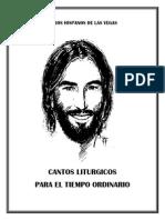 Cantos Para El Tiempo Ordinario (2014) Guitarra