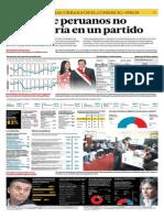 El 66% de peruanos no participaria en un partido