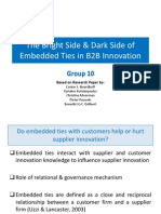The Bright Side & Dark Side of Embedded Ties