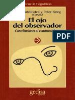 Watzlawick Paul - El Ojo Del Observador.pdf
