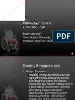 wheelchair vehicle extension plan