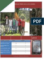 Informe Ciclo Hidrologico 2014