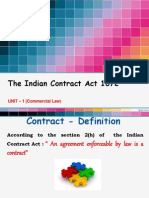 Unit 1 - The Indian Contract Act 1872