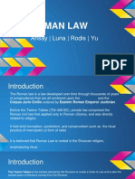 Roman Law Presentation