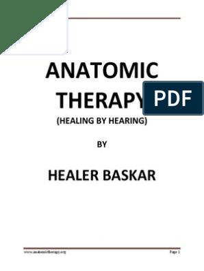 Anatomic Therapy Pdf Taste Alternative Medicine