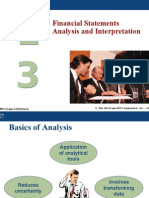 Financial Statements Analysis and Interpretation