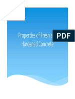 Concrete Technology Properties of Fresh Concrete