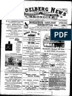 Heidelberg News March 1900