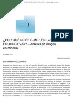 _POR QUÉ NO SE CUMPLEN LAS METAS PRODUCTIVAS  _ Análisis de riesgos en minería.pdf