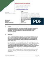 Fanshawe Grading Policy222222