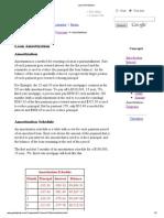 10. Loan Amortization