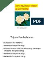 Konsep Konsep Epidemiologi Peremuan Ke 2