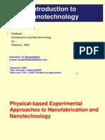 Nanotechnology Introduction