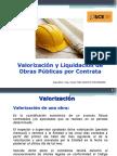 Valorización y Liquidación de Obras por Contrata .ppt
