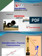 1.- Clase Magistral Estatica - Ucv 02.04.2014