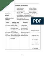 9borang Rekod Kolaborasi Kerja Kursus