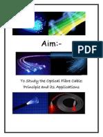 Optical Fiber Project