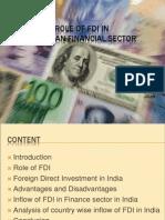 FDI in Finance